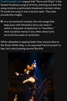 Hamilton | Lin-Manuel Miranda is flawless