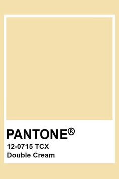 COLOR OF THE MONTH | Welcome Spring in Cream Yellow – part 1