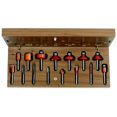 Set 15 frese #Setfrese #setfrese #fresa #cmt #lavorazionelegno #lavorarelegno #wood #hobbylegno #utensililegno #attrezzilegno #attrezzifalegnami #utensilifalegnami