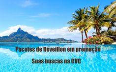 Saldão CVC com pacotes promocionais de reveillon 2018 #réveillon #promoção #viagens #pacotes