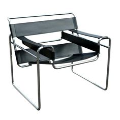 Marcel Breuer, B3 Wassily lounge chair , 1920's; not MCM, but would look gorgeous MCM & contemporary furniture:)