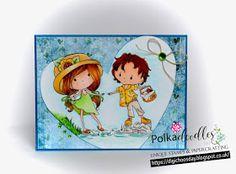 Polkadoodles, Card, Winnie, Rocco