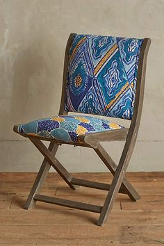 Kaneena Terai Folding Chair - anthropologie.com