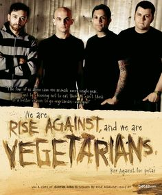 LOVE THEM! ♡♡♡ Proud to be vegetarian and proud to be their fan!