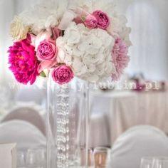 Znalezione obrazy dla zapytania kwiaty na stoły weselne