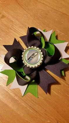Check out this item in my Etsy shop https://www.etsy.com/listing/219090785/seattle-seahawks-hairbow-super-bowl-blue