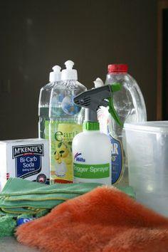 7 consejos de limpieza ecológica para el día a día