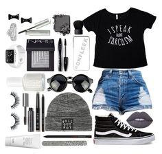 """Schoolday"" by ca-irelyn ❤ liked on Polyvore featuring Vans, River Island, Lime Crime, Lancôme, NARS Cosmetics, Jouer, Bobbi Brown Cosmetics, Essie, Marc by Marc Jacobs and Tiffany & Co."