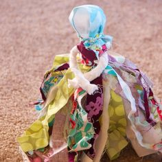 For my daughter's, Little House on the Prairie party, the guests all made rag dolls. The girls did a great job, and the dolls turned out so...