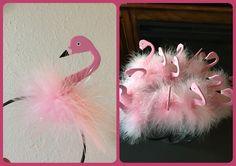 Flamingo headband