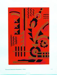 Original Serge Gladky Composition Nouvelle Series 1 # 33