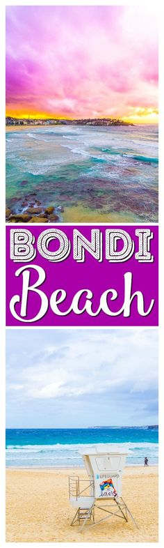 A Day At Bondi Beach is an absolute must when visiting Sydney, Australia. Go swimming, surfing, and eat your way along the boardwalk! via @sugarandsoulco