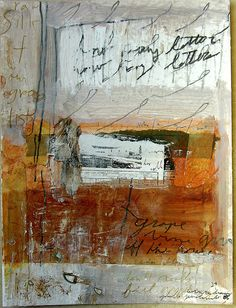 ArtPropelled — leslieavonmiller: raw silk and our grocey lists...