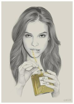 """""""Sippin on Gin n Juice """" by Kei Meguro"""