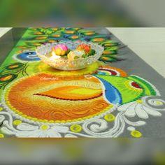 Best Rangoli For Diwali, Easy Rangoli Designs Diwali, Rangoli Designs Latest, Diwali Craft, Rangoli Designs Images, Rangoli Ideas, Indian Rangoli, Simple Rangoli, Diwali Decorations
