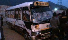Chofer perdió la vida en accidente de tránsito. (Fuente: Frecuencia Latina/Foto: Referencial)