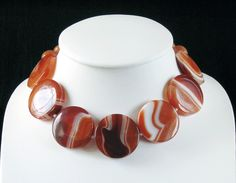 Stunning Carnelian necklace by Gef Tom Son at the Enterprise Centre, http://enterprise-centre.org/shop/gef-tom-son