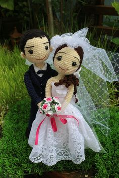 Crochetdolls cutecouple