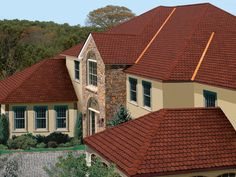 Victorian Red #gaf #designer #roof #shingles #home
