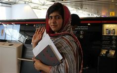 Malala Yousafzai checks in at Heathrow Airport on her way to New York and a day of destiny at the United Nations