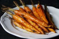 carote caramellate al forno