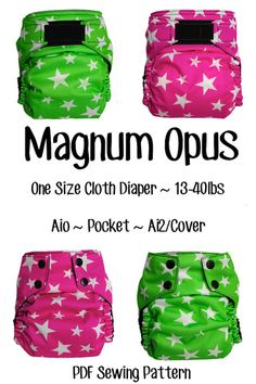 The BEST cloth diaper pattern! Tried and true tested over 4.5 years. Perfect fit, perfect design, perfect absorption. #LOVEYOURMONSTERS