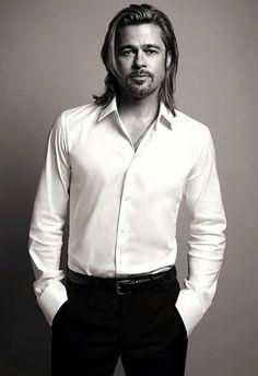 Brad Pitt | by Mario Sorrenti
