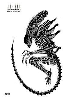 Alien Embryo : Warrior by Lordinator