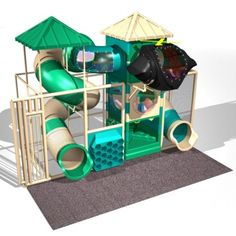 Indoor Play Areas, Indoor Playground, Playgrounds, Model, Store, Play Areas, Scale Model, Storage