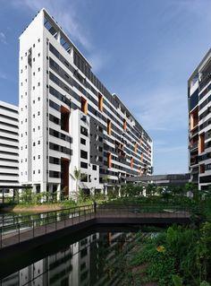 Vivienda y Deportes SUTD,Courtesy of LOOK Architects