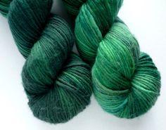 Sale 20 off  Hand Dyed Yarn  Superwash Merino by WanderingWool