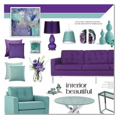 """""""Home Decor - Living Room"""" by anyasdesigns ❤ liked on Polyvore featuring interior, interiors, interior design, home, home decor, interior decorating, 37 West, Tag, Dot & Bo and Vue"""