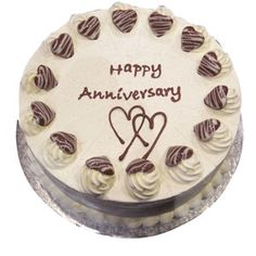 Get Exclusive Collection of wedding anniversary cakes online cake for anniversary at Unbeatable Price Only at giftjaipurcom Order Now!!