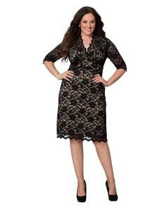 a89aba0fe58 Cute black plus size cocktail dresses 2014 - up to 5x plus Elegant Outfit
