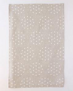 Linen Tea Towel  Colander in Blanc by STUDIOPATRO on Etsy, $24.00