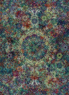 Organische Grafik: Christian Zanders Processed Art   DER METABØLIST. http://wp.me/p45qO3-1U7