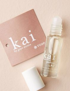 Kai Rose Oil Perfume with essential oils - roll on bottle