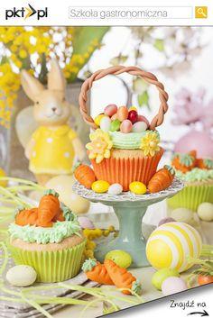 Chciałbyś nauczyć się tworzyć takie cuda w kuchni? Może warto pomyśleć o szkole gastronomicznej? #WielkanocZpkt #Wielkanoc #Easter #kitchen #food #foodporn #kuchnia #sweets #cupcakes #SprawdzonyPolecony