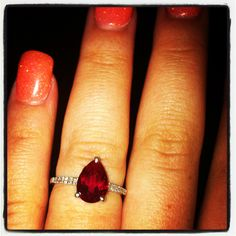Ruby ring, my new obsession