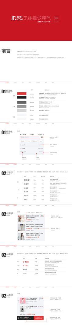 68京东无线端APPIOS4.0改版 视觉规范1