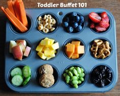 Toddler Buffet 101 ~ The Ultimate Snack Idea For Tots