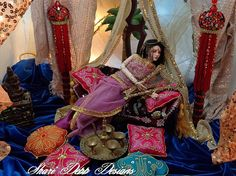 One of a Kind Sari Outfit for 15 inch dolls by ShariDeppDesigns, $199.00