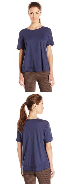 WILT WOMEN'S SEAMED T-SHIRT--------- Sizes Available: X-Small,Small,Medium and Large Cotton------Short-sleeve cotton tee featuring asymmetric seaming at hem --------Cool,Cute, Basic T Shirts Suitable for Casual and Party Wears in Summer/Spring 2016 ---------- Great for Gifts----------