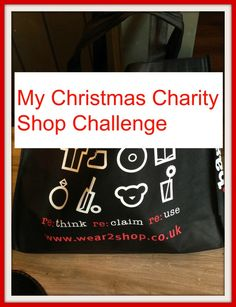My Christmas Charity Shop Challenge ...come and see what I got for just £15. You really can have a thrifty Christmas
