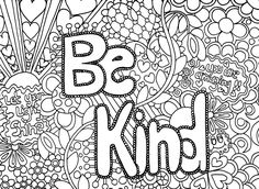 Doodle Art and Challenging Coloring Pages for Older Kids - Enjoy Coloring