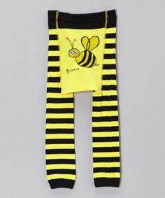 Another great find on #zulily! Black & Yellow Stripe Bee Pants - Infant #zulilyfinds