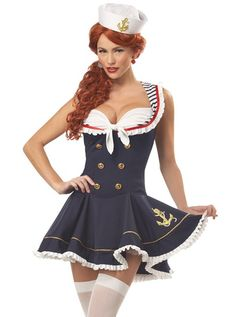 pinup girls costumes halloween - Pin Up Girl Halloween Costumes 2017