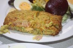 Nan's zucchini slice