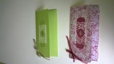 Pochettes cadeaux Gisèle ey Georgette 2017