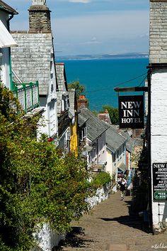 Clovelly, North Devon, England, UK